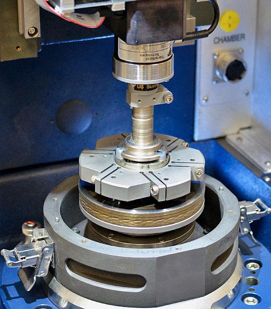 Bruker UMT Tribolab Brake Material Screening Tester