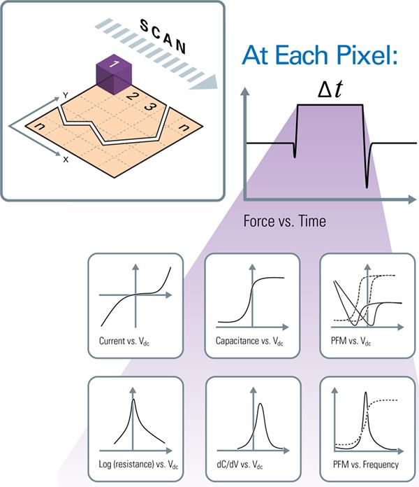 Bruker Nanoelectrical AFM Modes