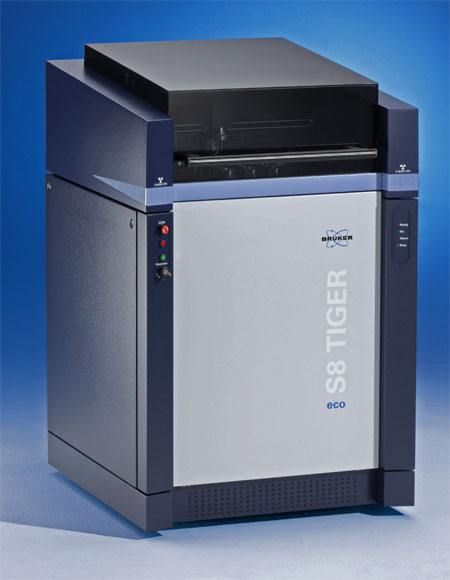Bruker S8 TIGER ECO XRF Spectrometer