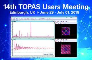 Bruker TOPAS XRD User Meeting 2018