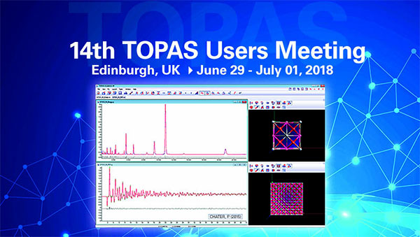 TOPAS Users Meeting 2018