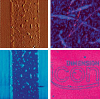 Bruker DImension FastScan AFM images