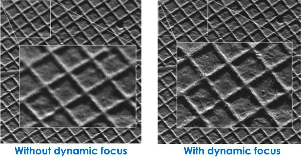 STEM Tomography - Dynamic Focus