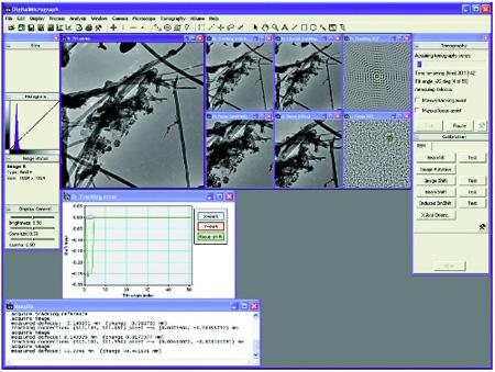 Gatan 3D Tomography Acquisition Software