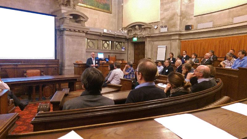 Dr Gregory Fisher at UKSAF