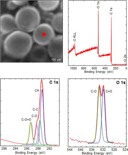 Micro area spectroscopy