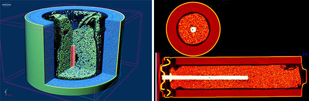 Micro-CT scans of batteries