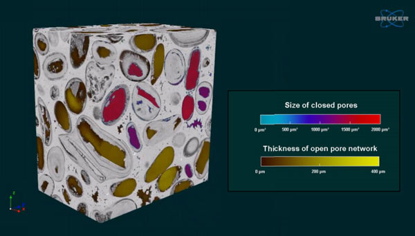 Analysing Rock Porosity With Micro-CT