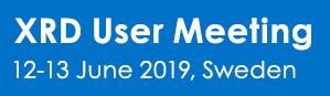 Bruker Nordic XRD User Meeting 2019