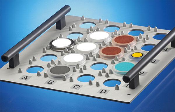 XRD sample tray