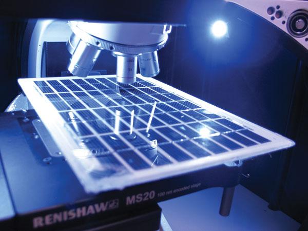 Solar Cell Analysis With Raman Spectroscopy