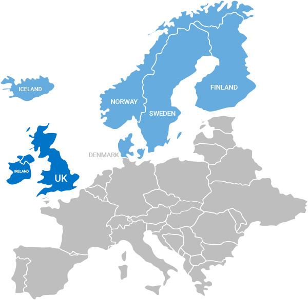 UK and Nordic Region