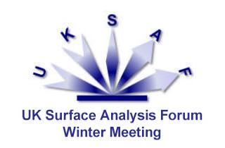 UKSAF Surface Analysis Forum Winter Meeting 2017