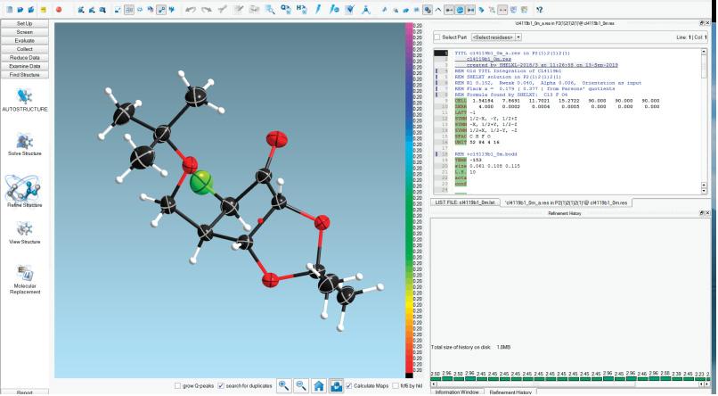 Bruker APEX3 Crystallography Software
