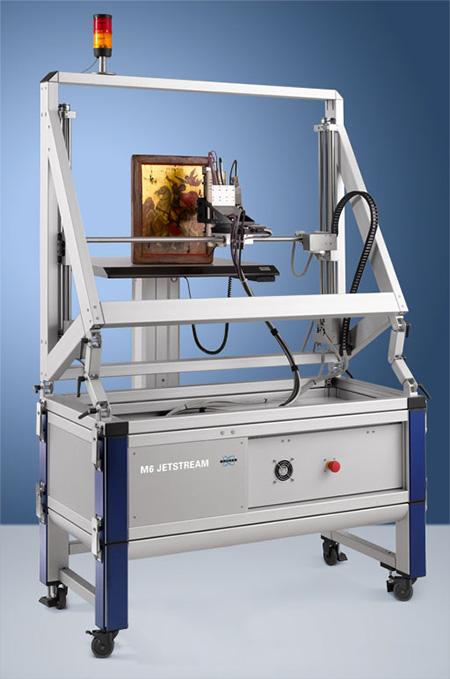Bruker M6 JETSTREAM large are micro-XRF spectrometer