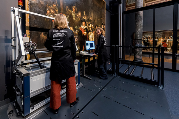 Macro-XRF Scanning A Rembrandt Painting