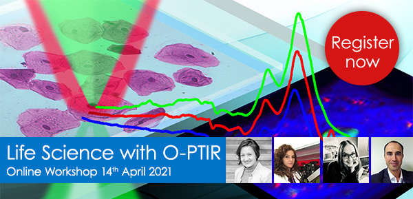 Life Science with O-PTIR Workshop 2021
