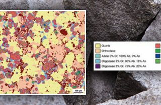 Analysing Mineral Composition in Rocks
