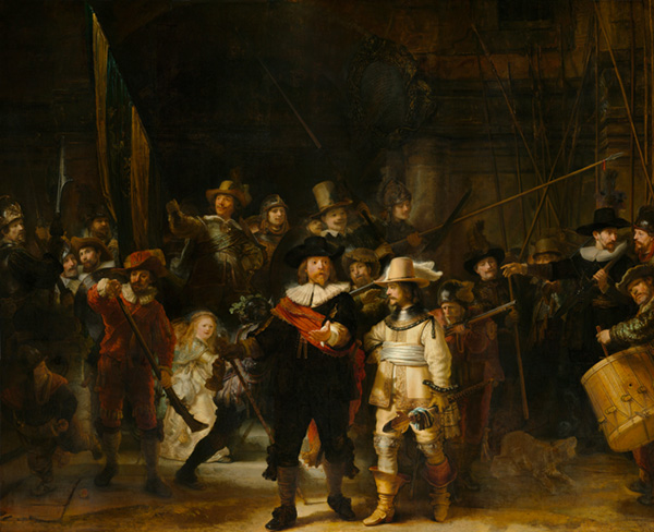 The Nightwatch by Rembrandt