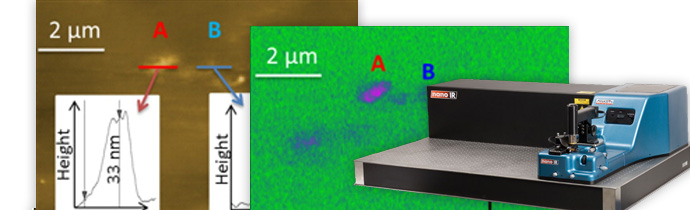 Polymer Additives Surface Blooming Identification using AFM-IR