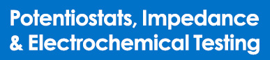 Potentiostats, impedance analysers & electrochemical testing