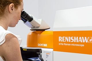 Large area mapping with the Renishaw Invia Raman Microscope