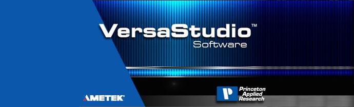 VersaStudio Software 2.44 from Princeton Applied Research (Ametek)